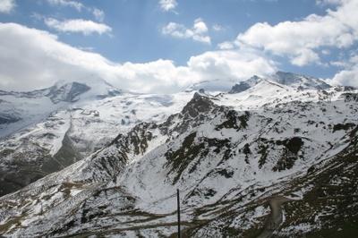 Blick auf den Tuxer Gletscher