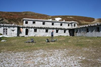 Festung aus der Zeit des italienischen Faschismus